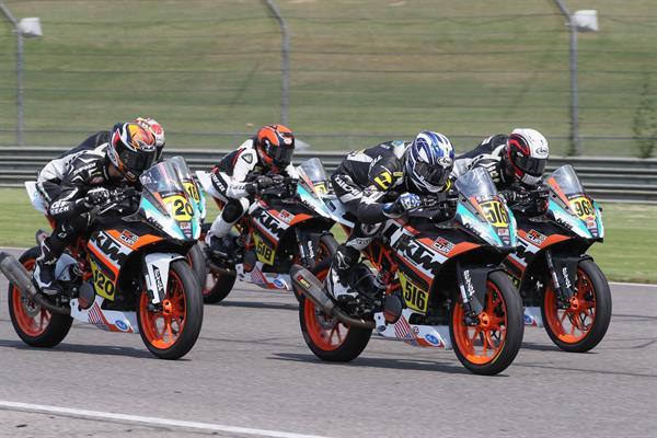 KTM roadrace contingency program